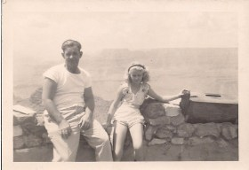 1946 Daddy and me--Grand Canyon