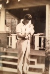 1935 Daddy and newborn Betty 2