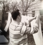 1958 Bill--hanging diapers outside 1