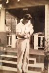 1935 Daddy and newborn Betty 2